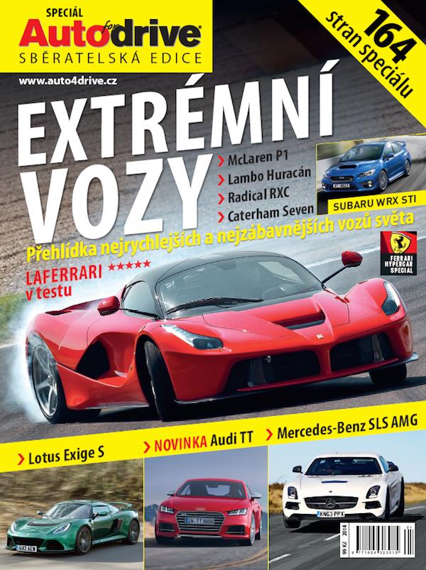 Titulní strana speciálu Extrémní vozy