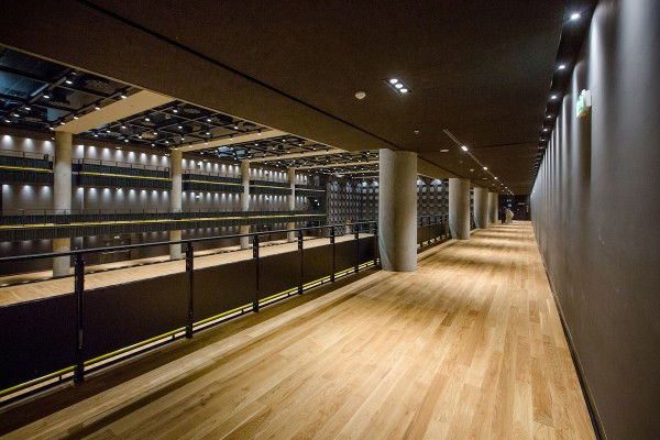 Interiér haly pro koncerty a konference