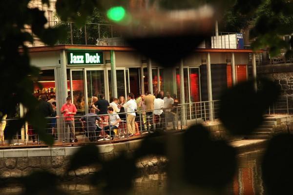 Vyhlášení proběhlo v příjemné atmosféře klubu Jazz Dock těsně nad hladinou Vltavy. Foto pro Havas: Ondřej Besperát