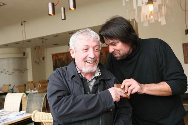 Ivan Rössler (vlevo) na archivním snímku s Jiřím Pomeje. Foto: Profimedia.cz