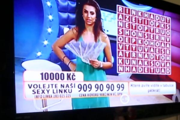 Závadný pořad Sexy Game se vysílá na Active TV i hudební stanici Óčko. Repro: stream.cz