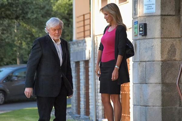 Josef Abrhám a Kateřina Brožová v seriálu Stopy života. Foto: TV Barrandov