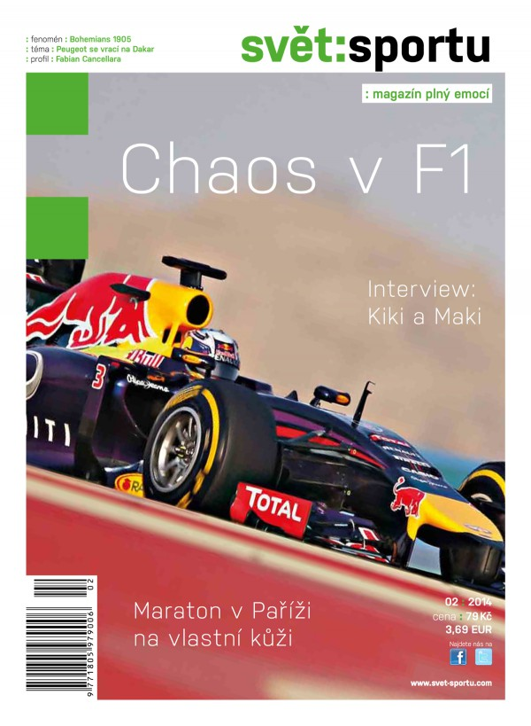 Titulní strana aktuálního vydání Světa sportu. Kliknutím zvětšíte
