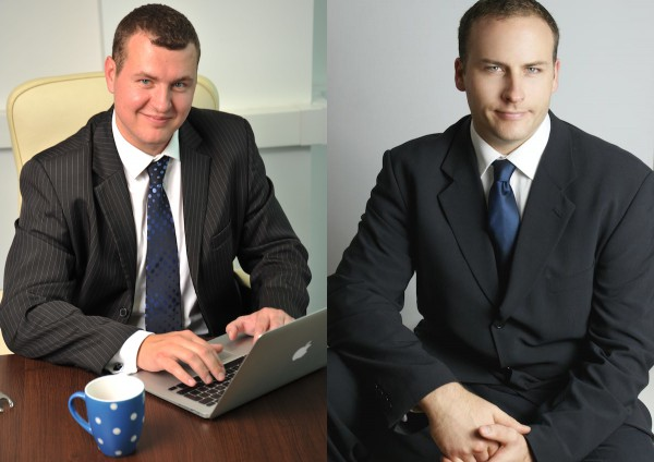 Agenturu Epic Public relations vlastní Ondřej Tesař (vlevo) a Robert Hladil
