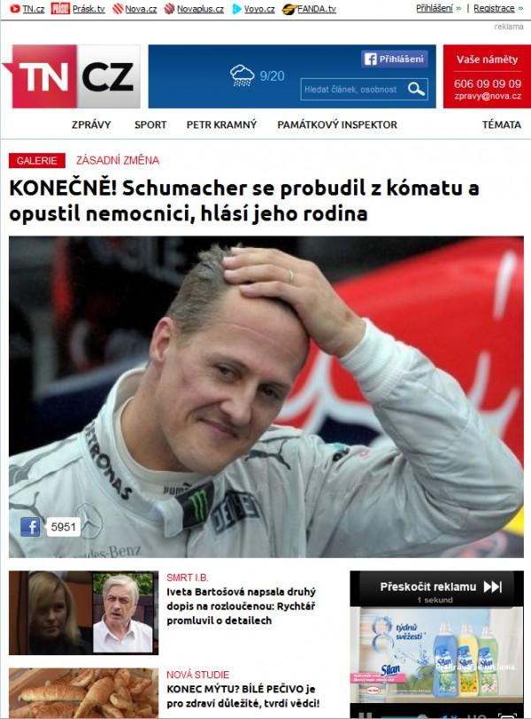 Nová podoba TN.cz: homepage pro tablety. Kliknutím zvětšíte