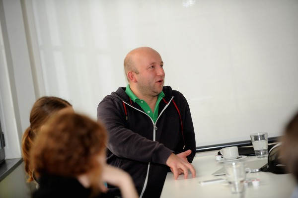 Tomáš Votruba z agentury TL5 Digital. Foto: Martin Kabát