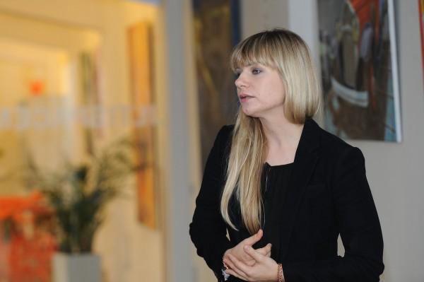 Patrícia Neupauerová z Googlu. Foto: Martin Kabát