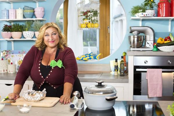 Halina Pawlowská ve své kuchyni. Foto: TV Nova