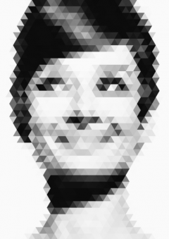 Audrey Hepburn v Trianglamu