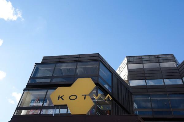 Obchodní dům Kotva s novým logem