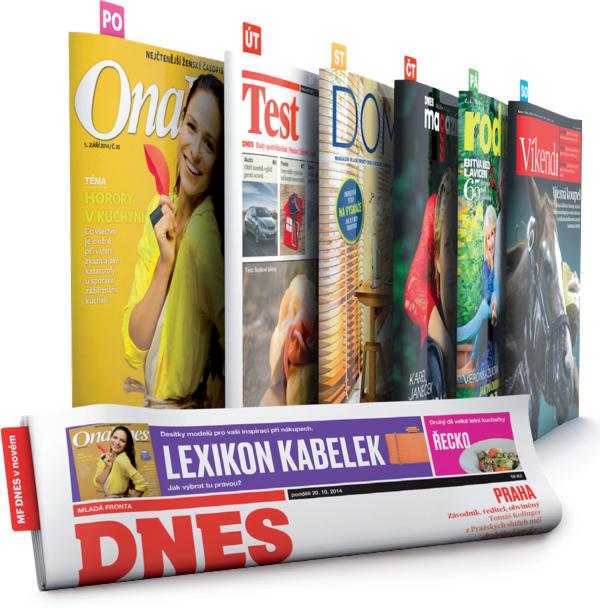 Deník se představí v novém designu a každý den s vloženým časopisem