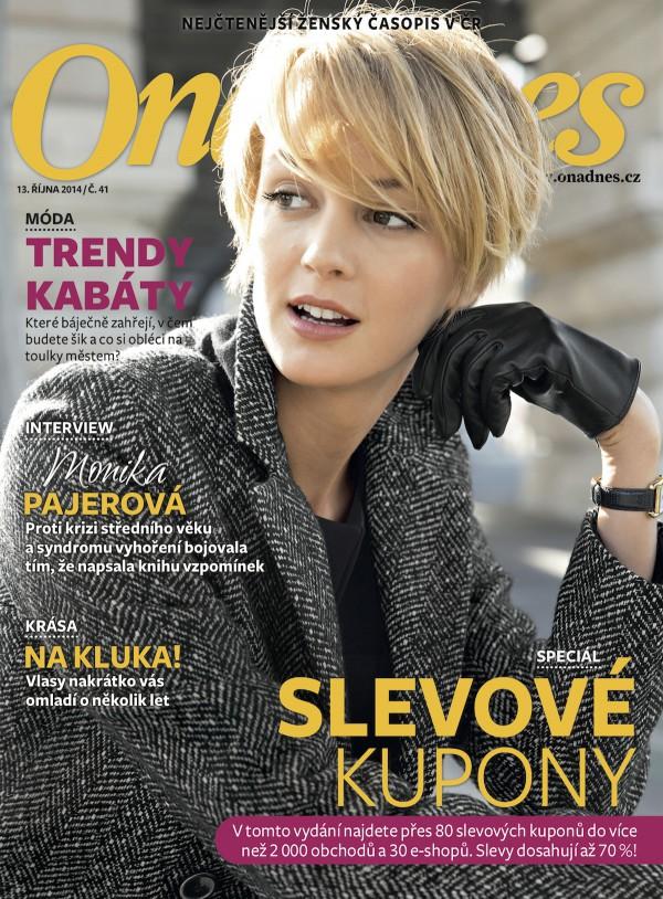 Pondělí patří tradičně magazínu pro ženy Ona Dnes