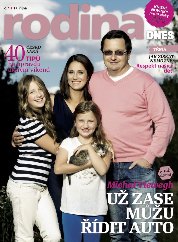Páteční novinkou je magazín Rodina