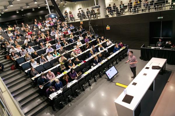 Konference Internet Jungle proběhla v Národní technické knihovně v pražských Dejvicích