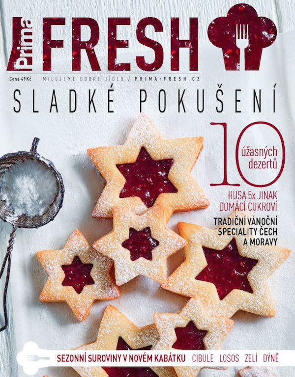 Titulní strana čtvrtletníku Prima Fresh