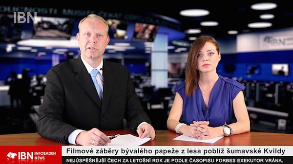 Jednou z tváří Infobaden TV je Tereza Seidlová (vpravo), známá z Óčka. Repro: startovac.cz