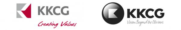Vlevo dosavadní, vpravo nové logo skupiny KKCG