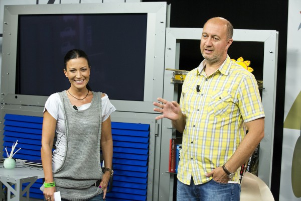 Gabriela Partyšová a Pavel Svoboda. Foto: TV Nova