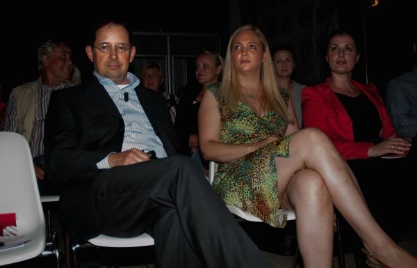 Generální ředitel Christoph Mainusch, programová ředitelka Alex Ruzek a šéfka vlastní tvorby Lucía Kršáková. Foto: Martina Votrubová