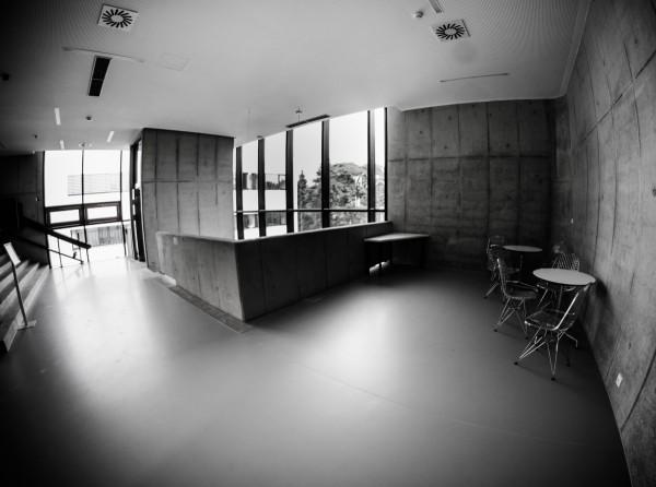 Interiér nad recepcí. Foto: Martina Votrubová