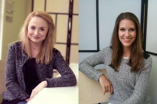 Nikola Čechová a Barbora Švehlová