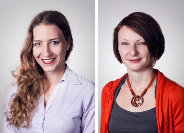 Tereza Knířová a Zuzana Medlíková