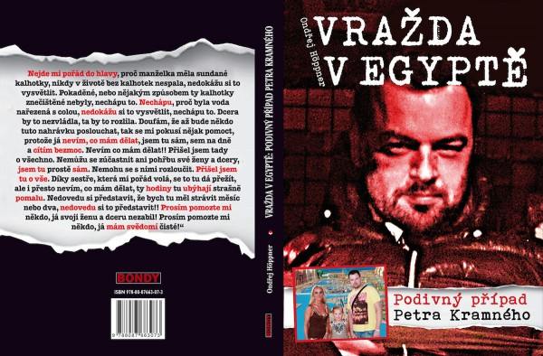 Obálka knihy Ondřeje Höppnera, kterou na přelomu června a července vydalo Nakladatelství Bondy