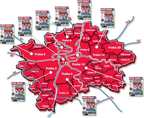 Plánovaný zásah mutací chystaného metropolitního týdeníku Naše Praha