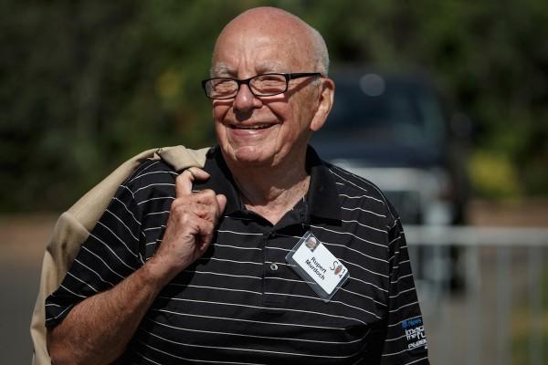 Rupert Murdoch letos v červenci v Sun Valley v americkém Idahu. Foto: Profimedia.cz