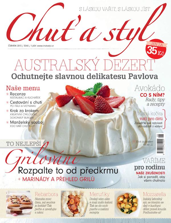 Předělaný vzhled časopisu z června 2013