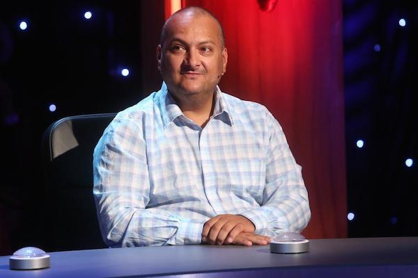 Patrik Hezucký v show QI televize Prima. Foto: TV Prima