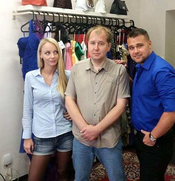 Režisérka Ivanna Benešová, soutěžící a stylista Pavel Filandr. Foto: TV Harmonie