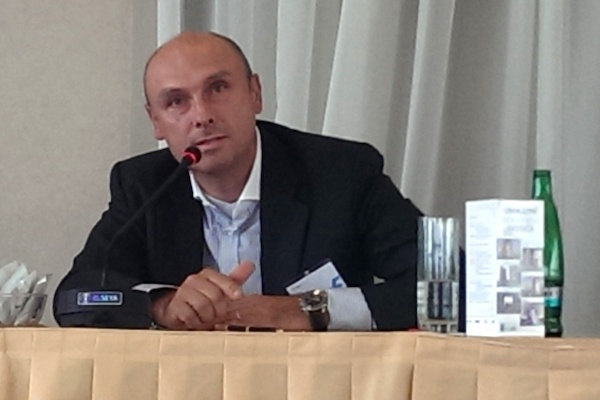 Obchodní ředitel Novy Jan Vlček na mediální konferenci Flema