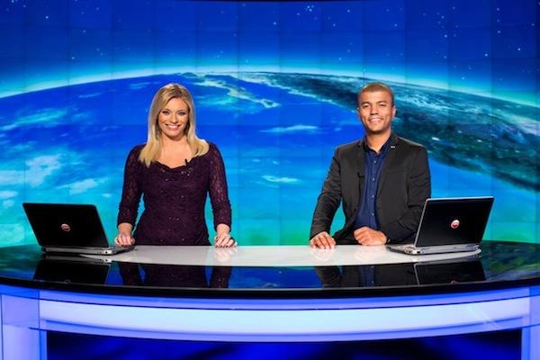 Lucie Borhyová a Reynolds Koranteng. Foto: TV Nova