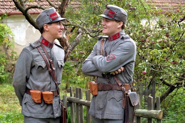 Noví televizní četníci Robert Hájek a Martin Donutil. Foto: Česká televize