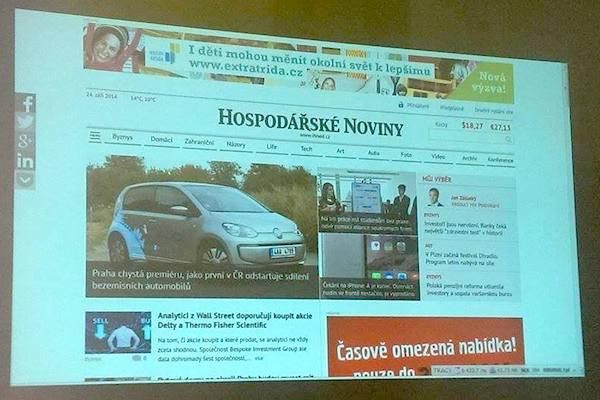 Nový web ustoupí od značky iHNed.cz a bude používat značku tištěného titulu