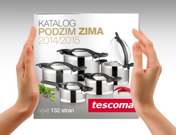 Katalog Tescomy nesměřuje primárně k Vánocům, nabídky platí do února 2015