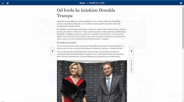 Lidové noviny: článek
