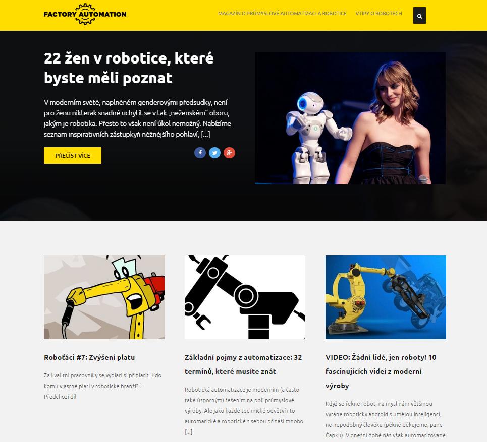 Magazín o průmyslové automatizaci