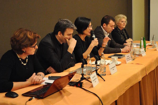 Debata o crossmediálním měření. Foto: SPIR