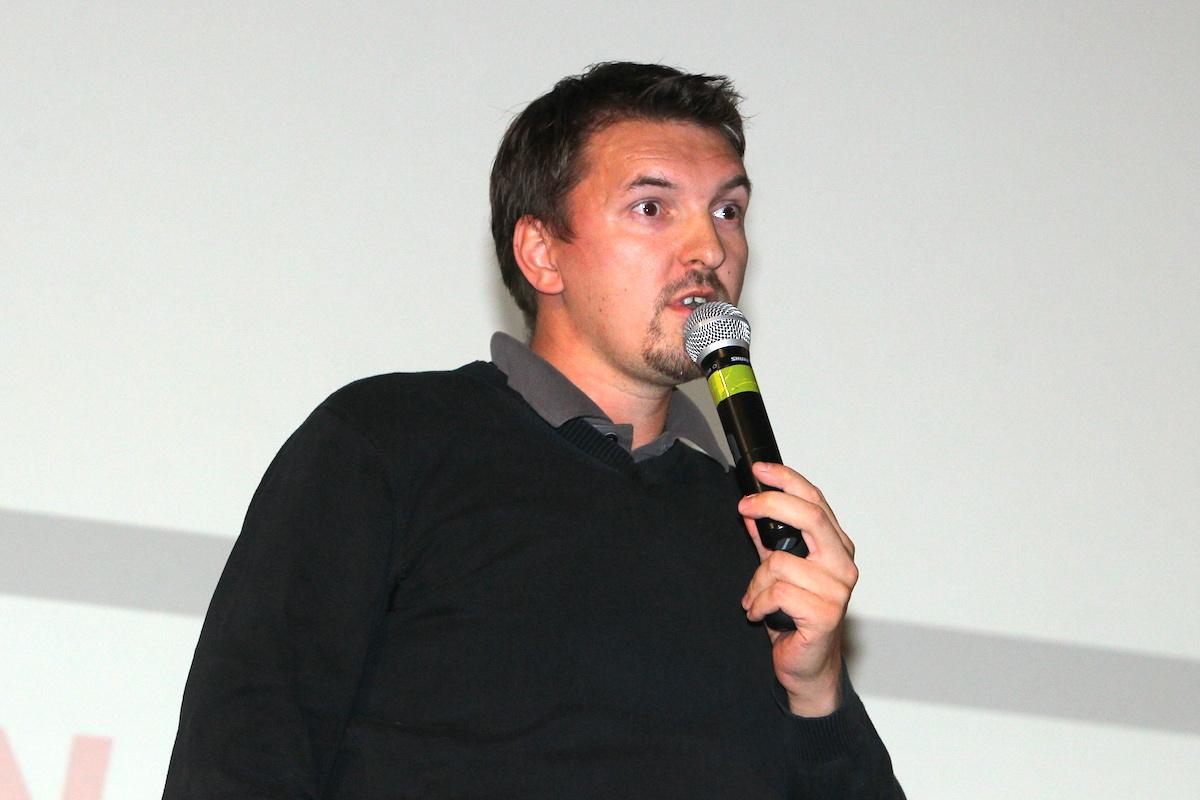 Jako první prezentoval Pavel Matoušek, známá postava českého online byznysu. Foto: Tomáš Pánek