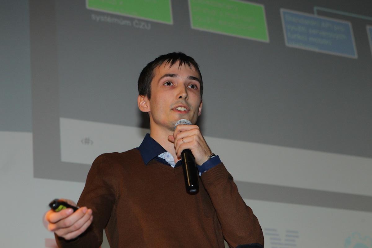 Ondřej Plevka z IBM. Foto: Tomáš Pánek