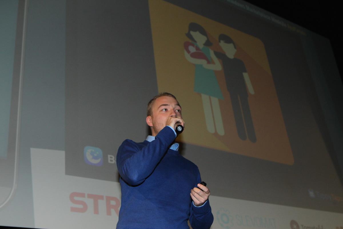 Jakub Šnorbert z TappyTaps. Foto: Tomáš Pánek