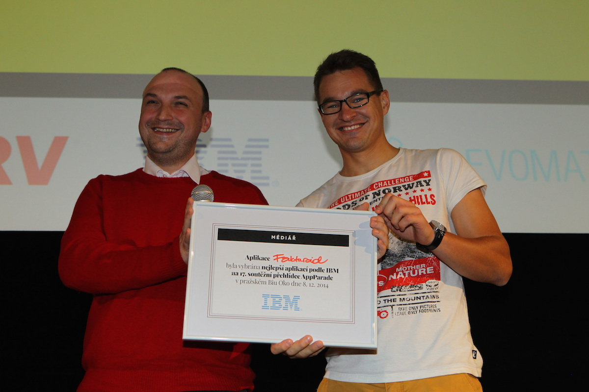 Petr Biskup z IBM ocenil Fakturoid. Foto: Tomáš Pánek