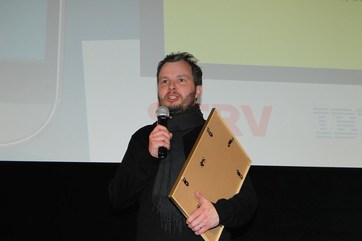 Marek Prchal se vyznává z lásky k vítězné aplikaci Fakturoid. Foto: Tomáš Pánek