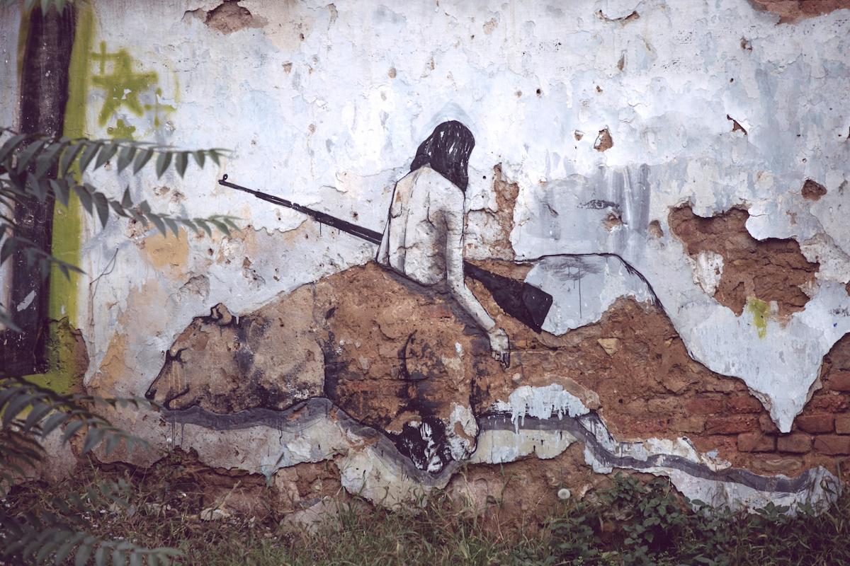 Z galerie pražského pouličního umění