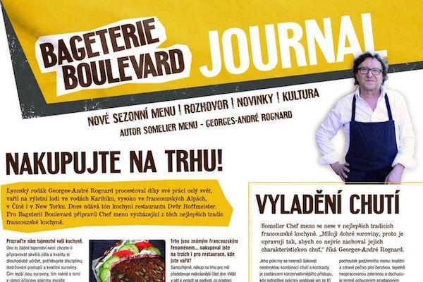 Bageterie Boulevard redukuje svůj Journal