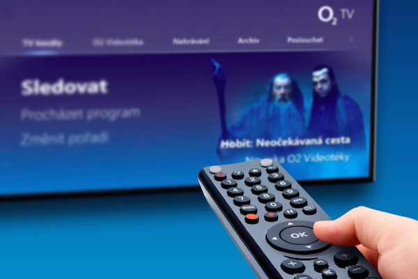 Placená O2 TV hlásí nárůst zákazníků na 406.000