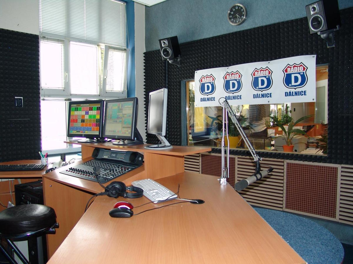 Studio rádia Dálnice