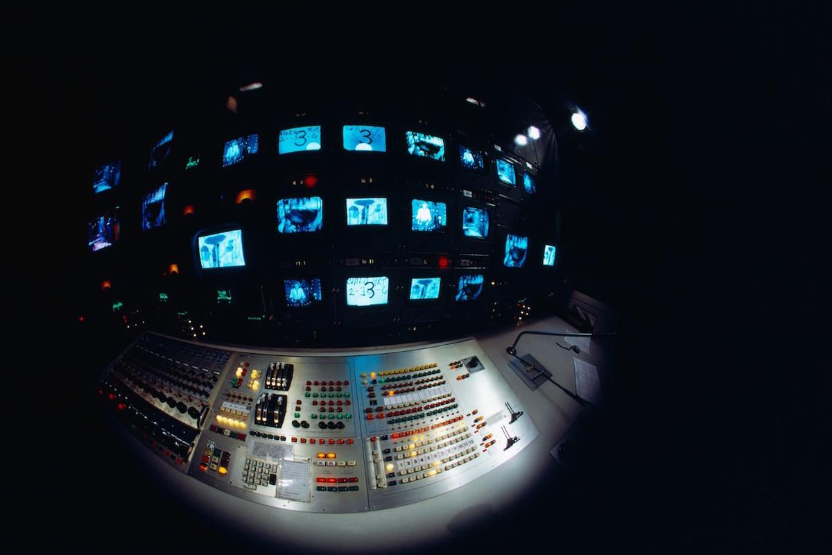 Televizní studio. Foto: Profimedia.cz